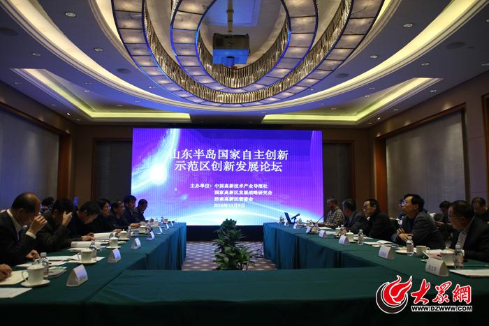 将济南高新区打造为区域性科技创新中心