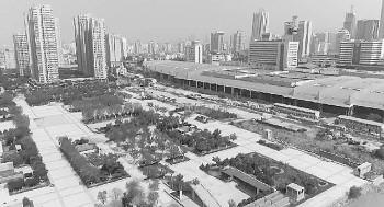 工人已经大批入驻!济南火车站北广场再度开工,记者现场探访