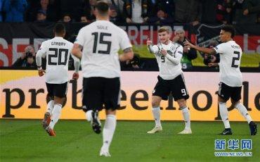 (体育)(1)足球――欧足联国家联赛:德国战平荷兰