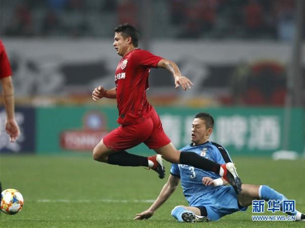 (体育)(11)足球——亚冠:上海上港胜川崎前锋