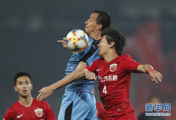 (体育)(10)足球——亚冠:上海上港胜川崎前锋