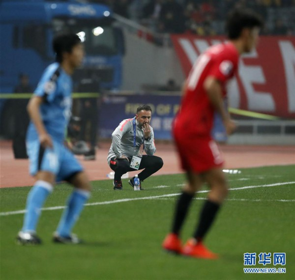 (体育)(15)足球——亚冠:上海上港胜川崎前锋