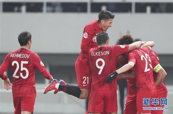 (体育)(6)足球——亚冠:上海上港胜川崎前锋
