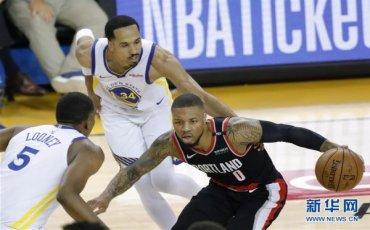 (体育)(14)篮球——NBA西部决赛:勇士迎来开门红