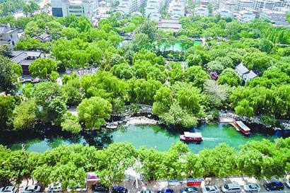 济南历下区护城河