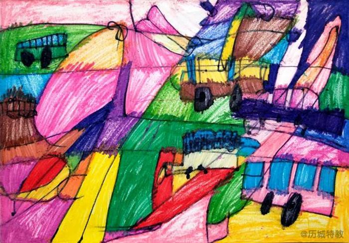 七彩中国梦 最美童语童画 历城特教学校少儿美术作品展本周开展