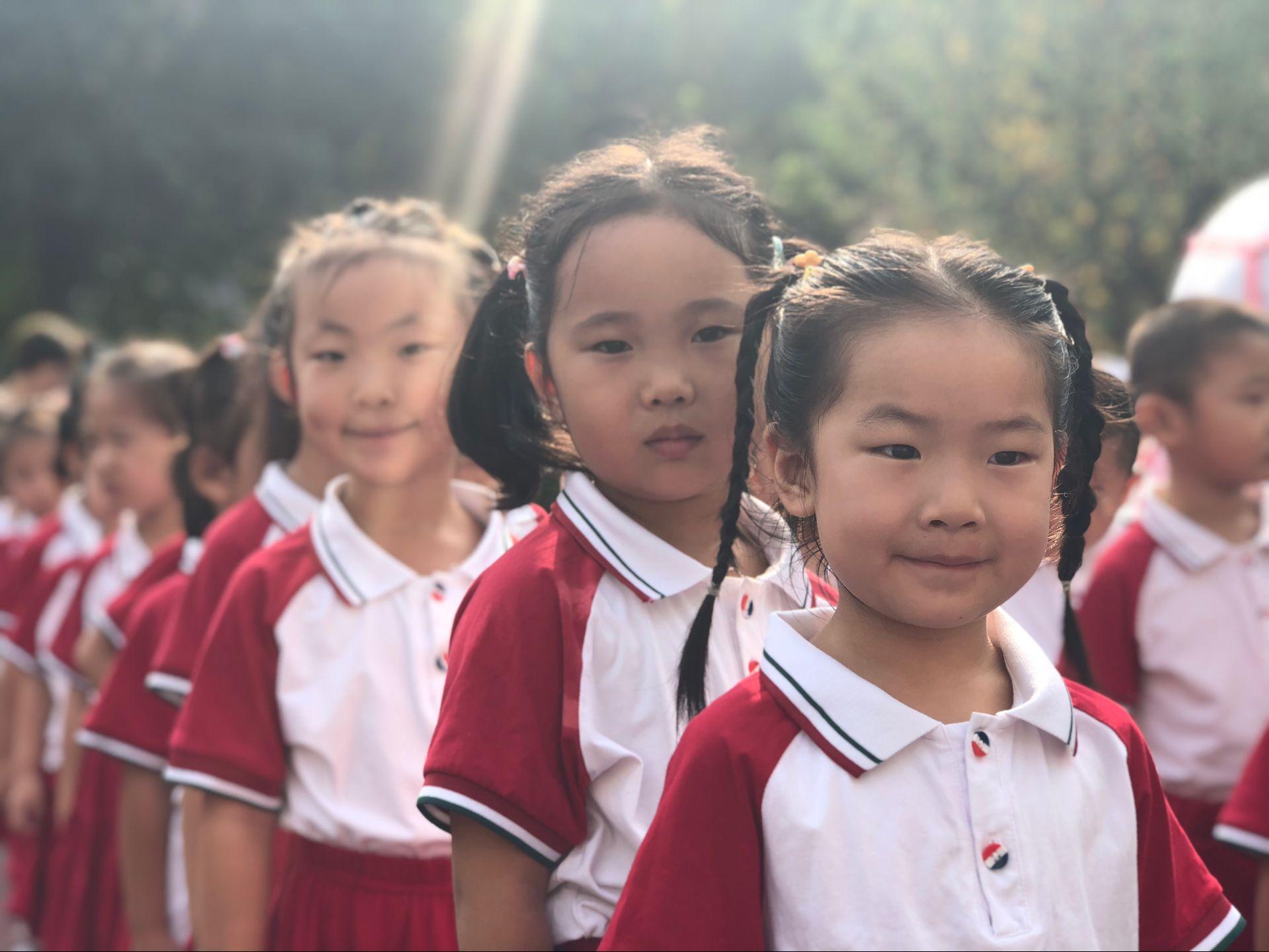 展望美好未来 丁佳幼儿园举行开学典礼活动
