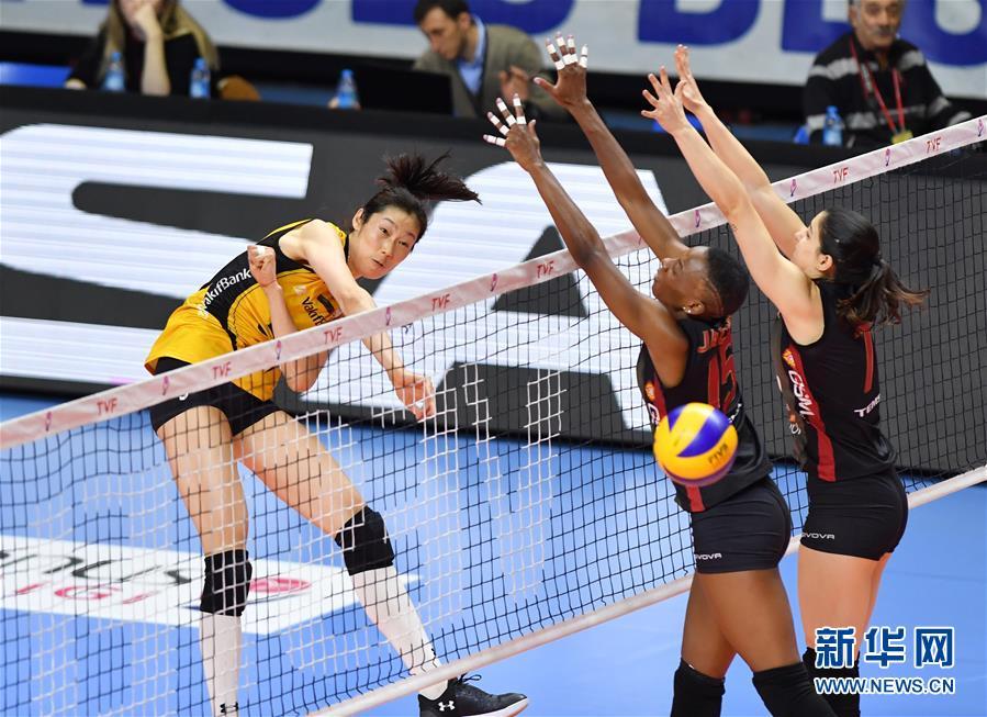 土耳其女排联赛:瓦基弗银行胜加拉塔萨雷